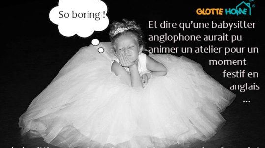 babysitting occasionnel en anglais