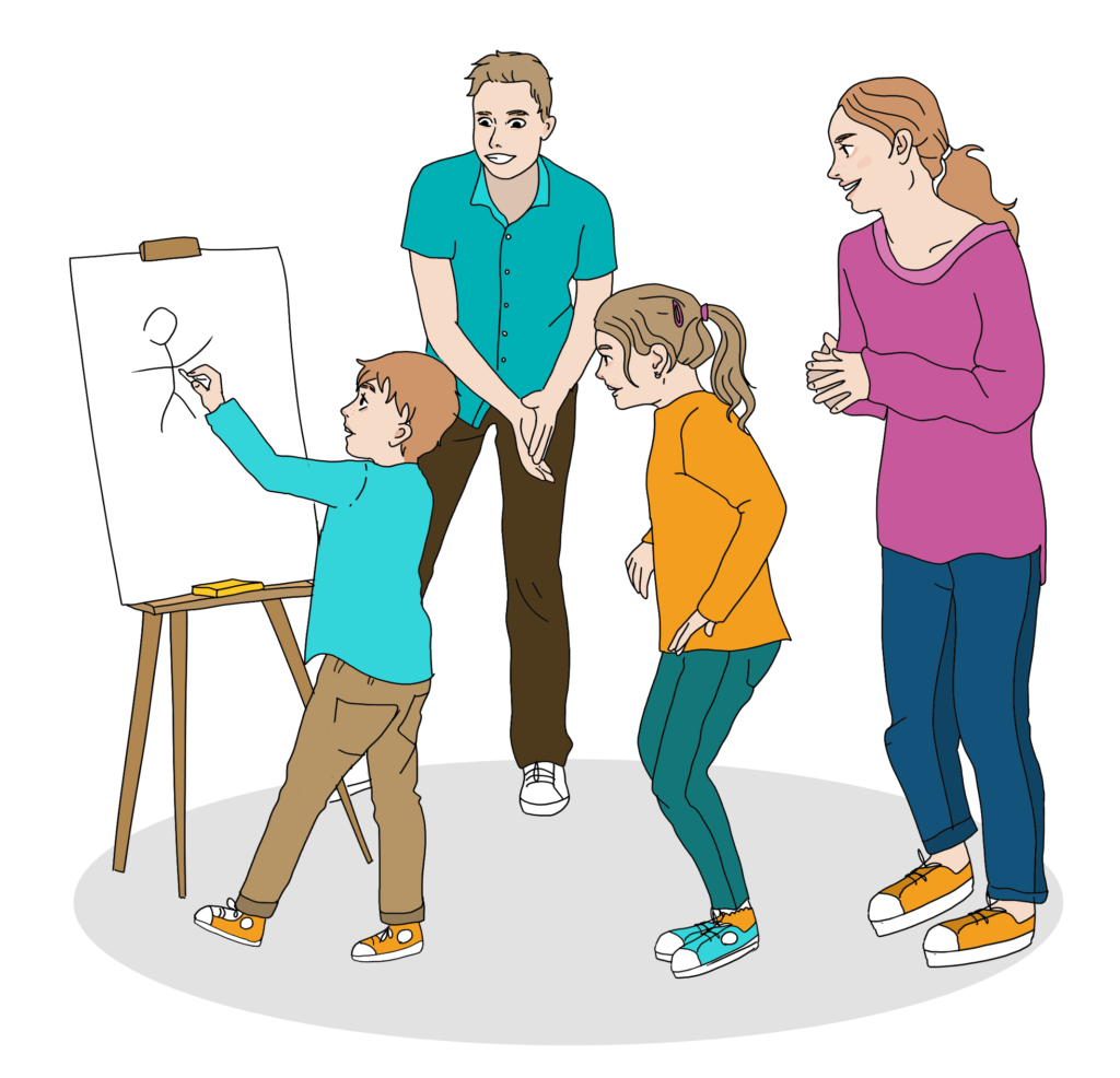 atelier anglais en famille